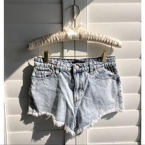 Forever 21 | Acid washed denim shorts